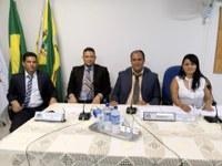 ELEITA MESA DIRETORA PARA O BIÊNIO 2019 A 2020